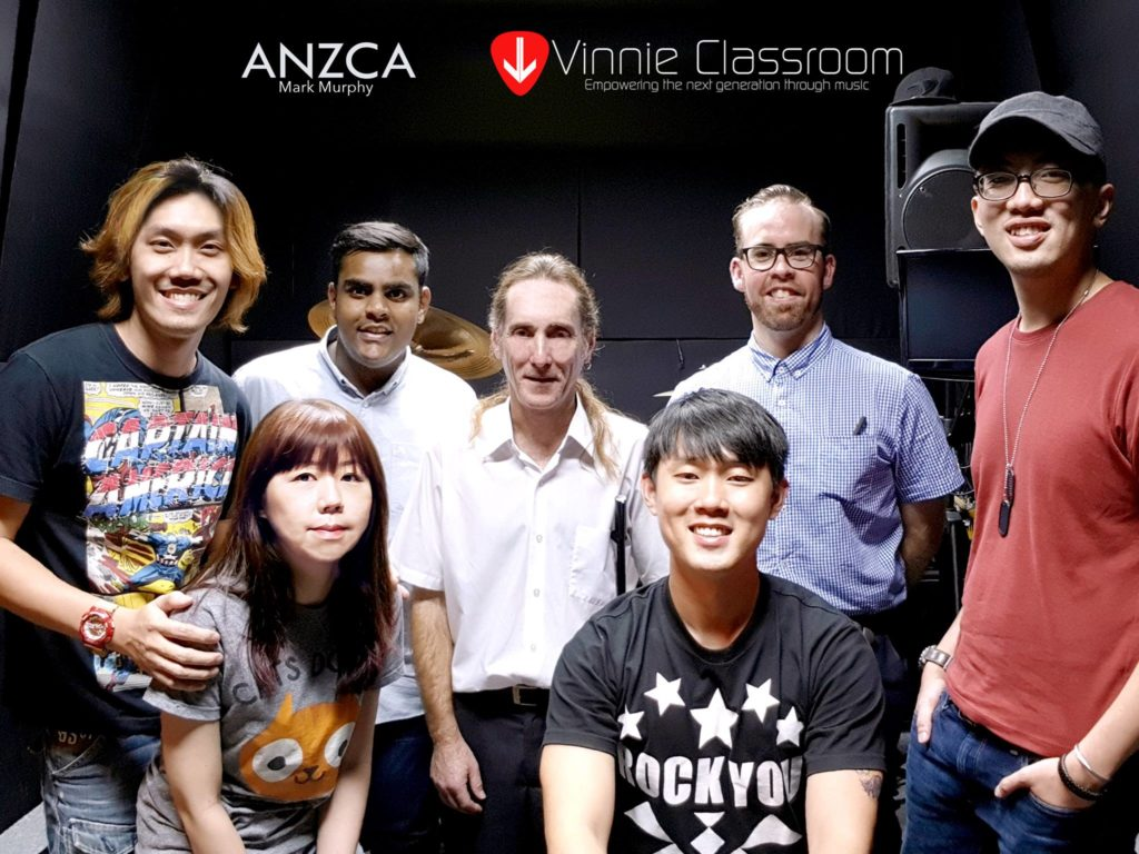 Mark Murphy ANZCA Drum Examiner Singapore