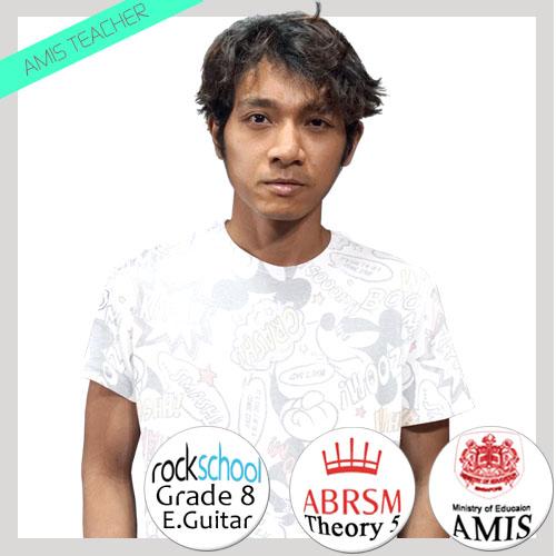 Han guitar teacher singapore