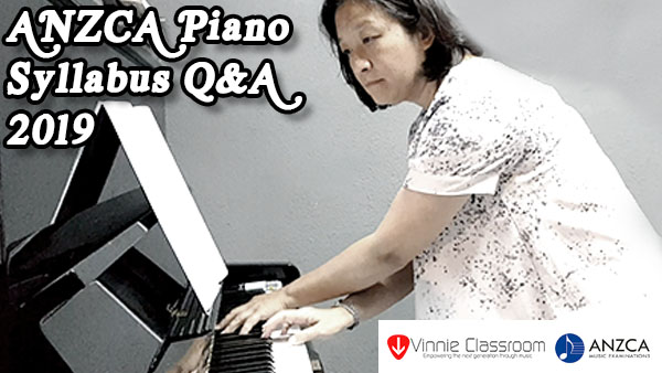 Anzca Piano Syllabus Q&A Session 2019