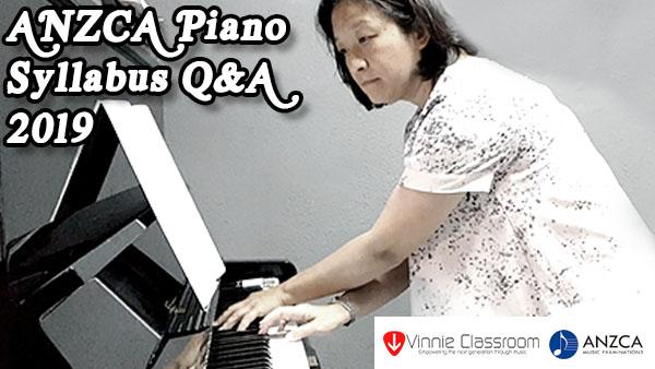 Anzca Piano Syllabus Q&A Session 2019