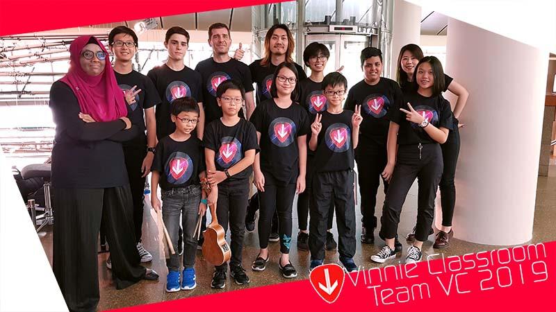 Vinnie Classroom 2019