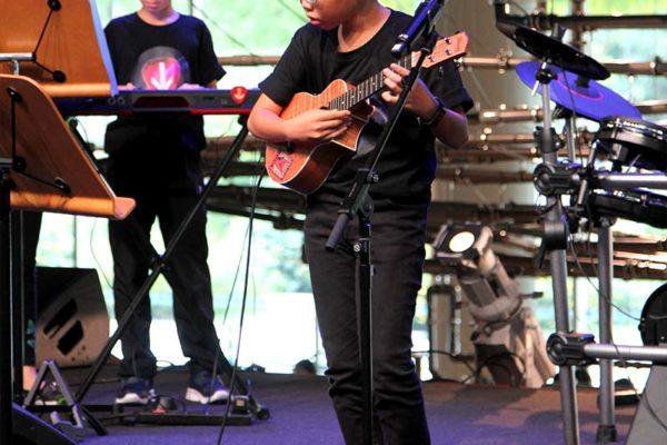 ukulele at esplanade