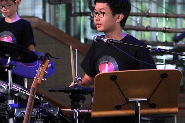 esplanade concourse drummer