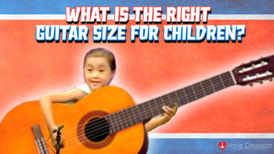 guitar size for children