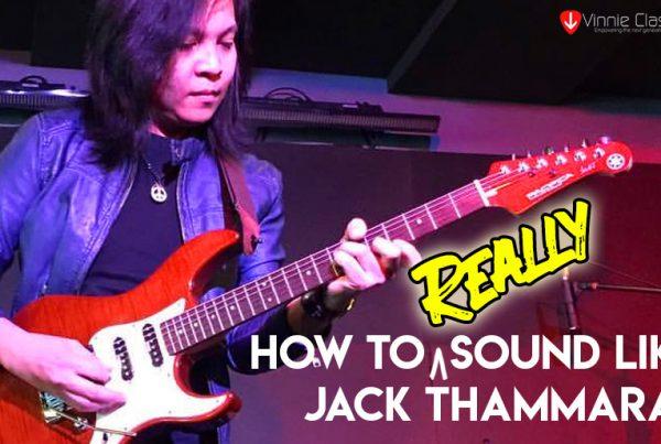 Sound like Jack Thammarat