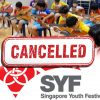SYF 2020 cancelled