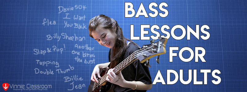 bass guitar lessons for adults