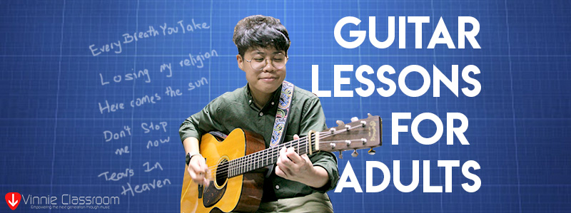acoustic guitar lessons for adults