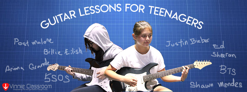 electric guitar lessons for teenagers