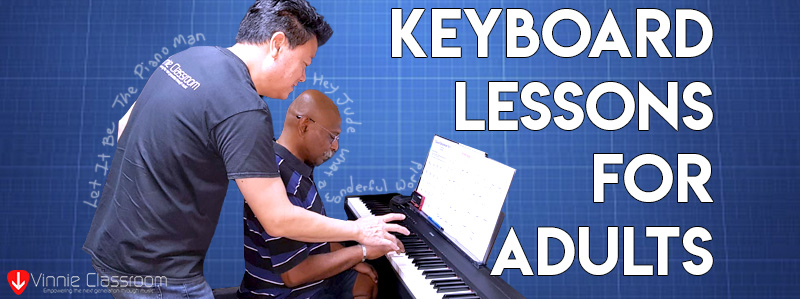 keyboard lessons for adults