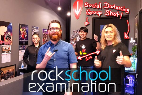 Rockschool Examination Singapore