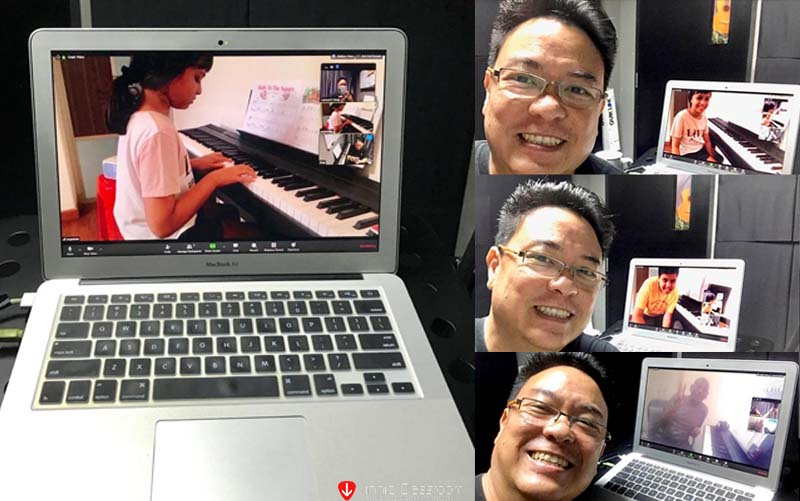 piano lesson video call