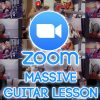 massive guitar lesson on zoom us