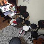alfe kim electronic drum setup
