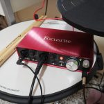 focusrite drum interface