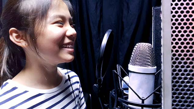 Keisha Singing
