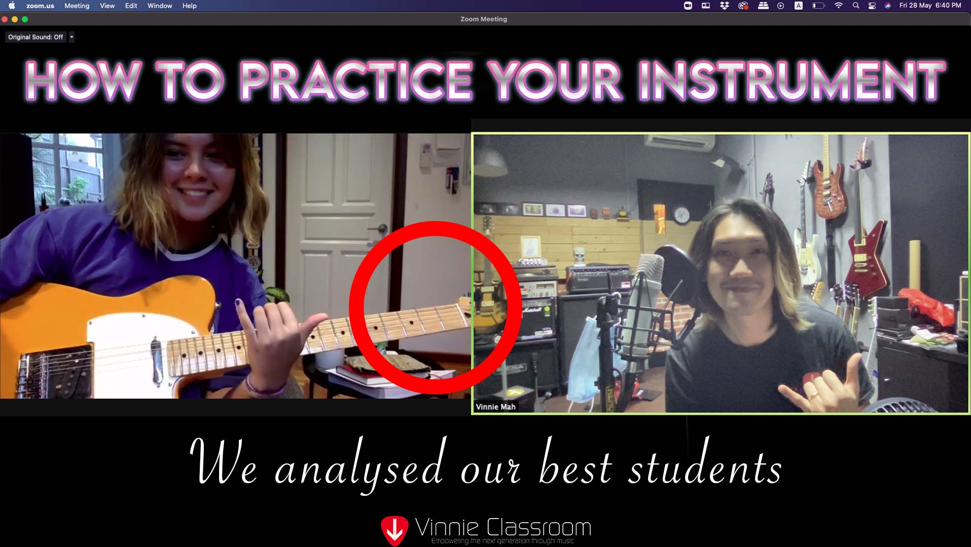 how to practice your instrument