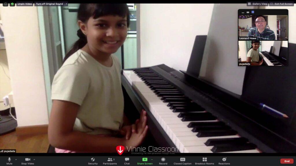 piano zoom lesson